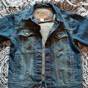 Old Navy Blue Jean's Jacket EUC